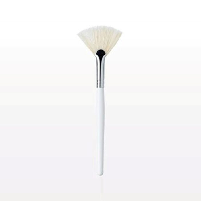 brushes-and-accessories-fan-mask-brush-white-taklon-glycolic-acid-peel-treatment-applicator-tca-lactic-skin-chemical-peels