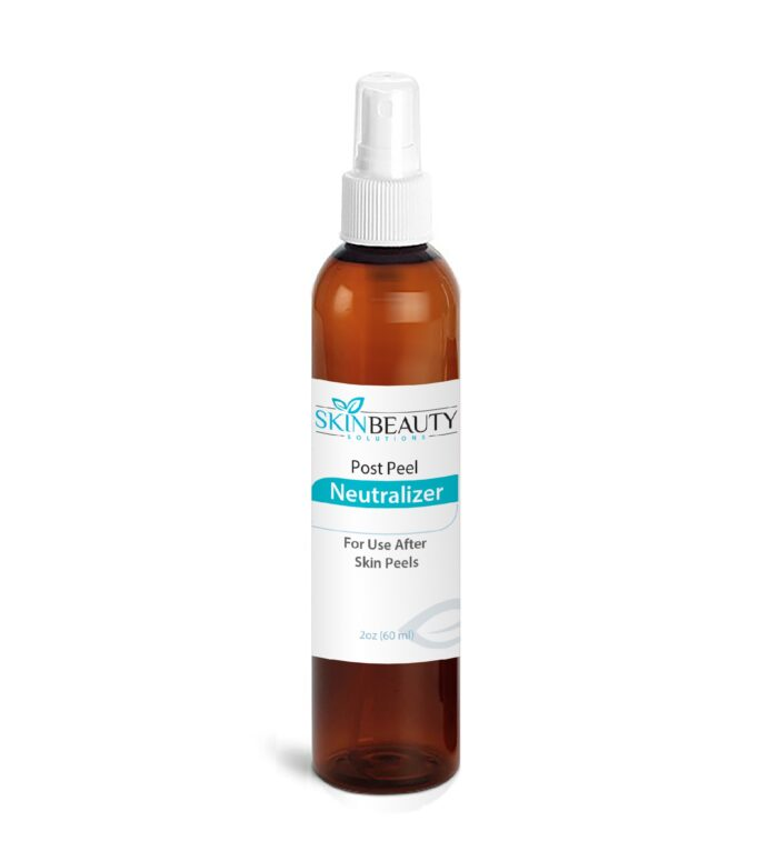 Post Peel Neutralizer after skin peels glycolic lactic tca salicylic acid 2oz.